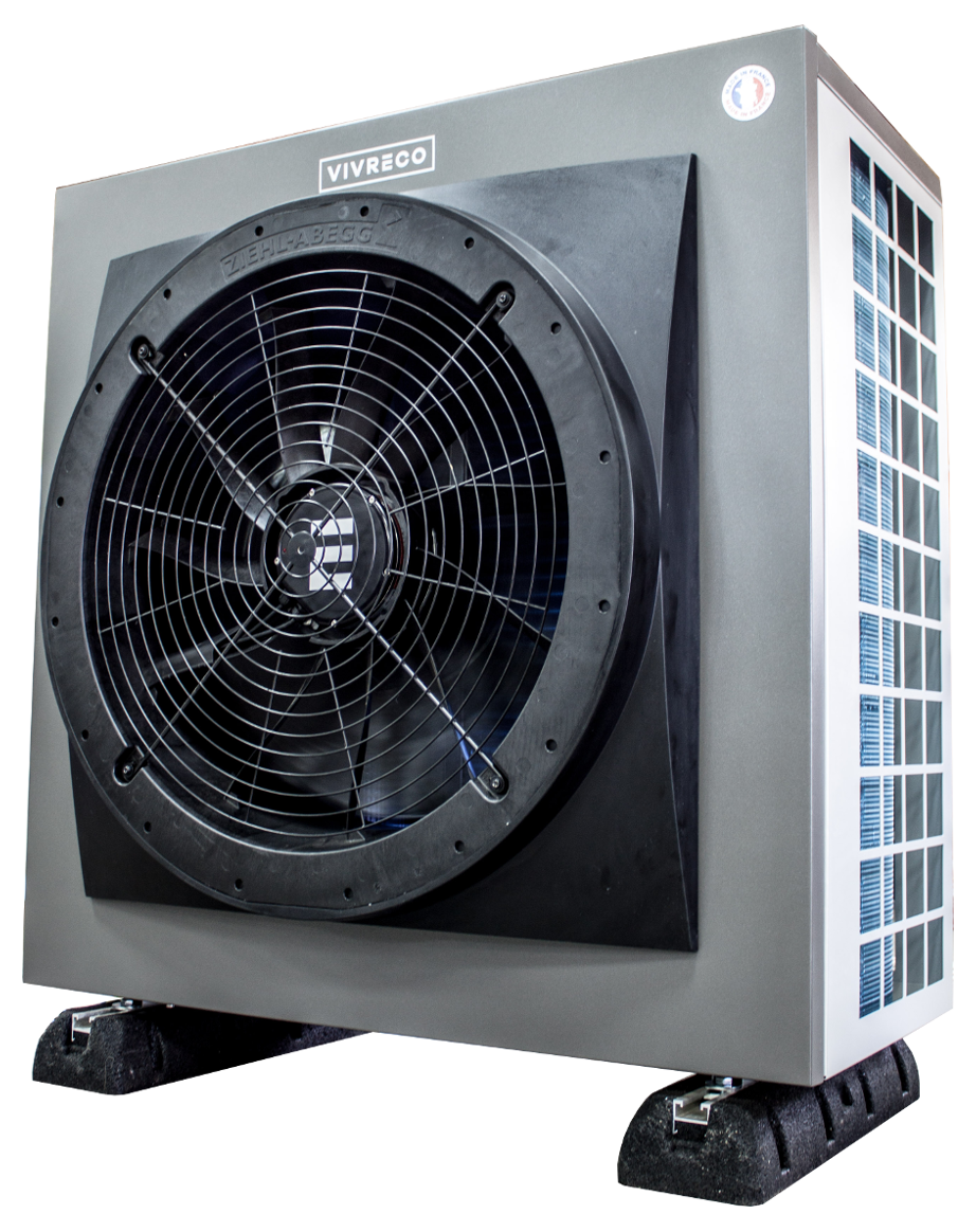 air water heat pump efficient modern compact one bloc
